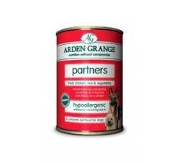 Krmiva - Arden Grange Canned Dog Chicken konz. 395g