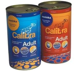 Krmiva - Calibra Dog Basic konz. hovězí kousky v omáčce