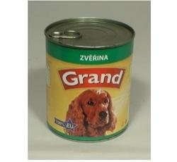 Krmiva - GRAND konz. pes se zvěřinou