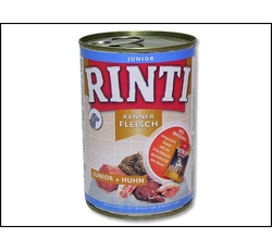 Krmiva - Rinti Dog Junior konzerva kuře