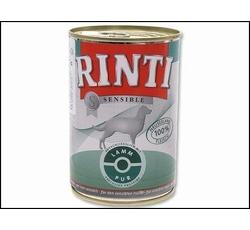 Krmiva - Rinti Dog Sensible konzerva jehně 390g