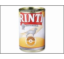 Krmiva - Rinti Dog Sensible konzerva kuře+rýže