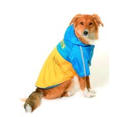 Oblečky, doplňky - Obleček SPORT Žlutá/Modrá s kapucí 2V1