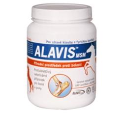 Vitamíny, léčiva - Alavis MSM pro koně plv 600g
