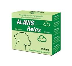 Vitamíny, léčiva - Alavis Relax pro psy 150mg