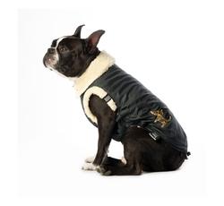 Oblečky, doplňky - Bunda s flízovou podšívkou Logo Dog - černá