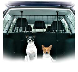 Cestování se psem - Automřížka do kufru š.125-140/v.63-135cm