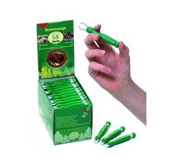 Vitamíny, léčiva - Kleště na klíšťata plast zelené KAR