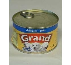Krmiva - GRAND konz. štěně,kočka Delikates mas.směs