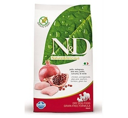 Krmiva - N&D Grain Free DOG Adult Maxi Chicken&Pomegranate