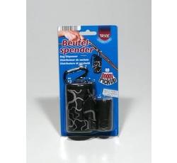 Hygiena - Pouzdro nylon Černý + sáčky na psí exkrement 2x20ks