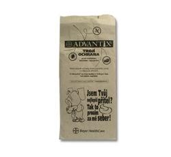 Hygiena - Sáčky na psí exkrementy papírové, páskované 25ks