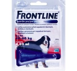 Antiparazitika - Frontline Spot-On pro psy XL 1x4,02ml - červený