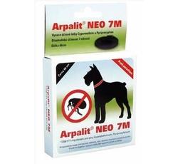Antiparazitika - Arpalit Neo 7M obojek antiparazitární Černý 66cm pes