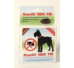 Antiparazitika - Arpalit Neo 7M obojek antiparazitární Hnědý 66cm pes