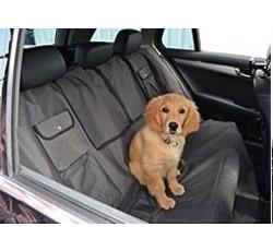 Cestování se psem - Ochranný autopotah sedadel, 140x145cm NYLON/PE