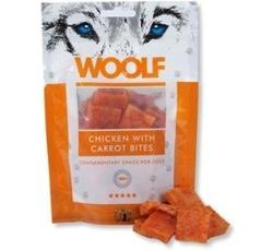 Pamlsky - WOOLF pochoutka chicken with carrot bites 100g (kuře + mrkev)