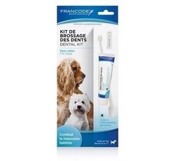 Hygiena - Francodex Dental Kit zubní pasta 70g+kartáček pes