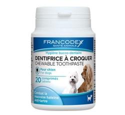 Hygiena - Francodex Žvýkací zubní pasta v tabletách 20tbl