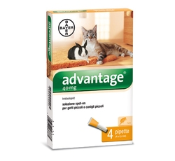 Antiparazitika - Advantage 40 10% 4x0,4ml (pro kočky do 4kg)
