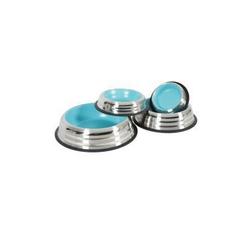 Misky, zásobníky - Miska nerez protiskluz pes MERENDA modrá Zolux