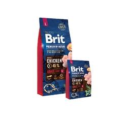 Krmiva - Brit Premium Dog by Nature Adult L