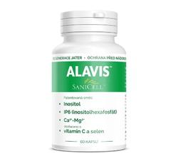 Vitamíny, léčiva - Alavis Sanicell pro psy a kočky 60cps