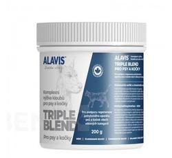 Vitamíny, léčiva - Alavis Triple Blend pro psy a kočky 200g