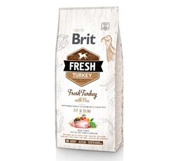Krmiva - Brit Fresh Dog Turkey & Pea Light Fit & Slim