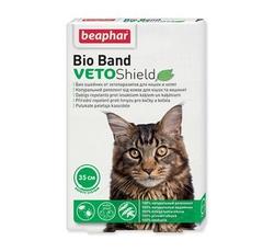 Obojky - Beaphar Obojek antipar. kočka Bio Band VetoSh.35cm 1ks