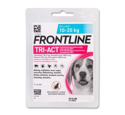Antiparazitika - Frontline Tri-Act pro psy Spot-on M (10-20 kg) - 1 pipetka
