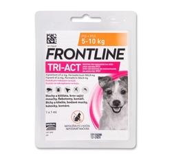 Antiparazitika - Frontline Tri-Act pro psy Spot-on S (5-10 kg) - 1 pipetka