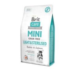 Krmiva - Brit Care Dog Mini Grain Free Light & Sterilised