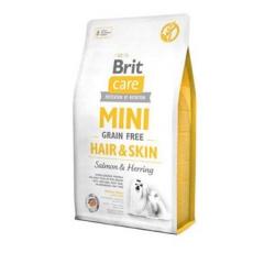 Krmiva - Brit Care Dog Mini Grain Free Hair & Skin