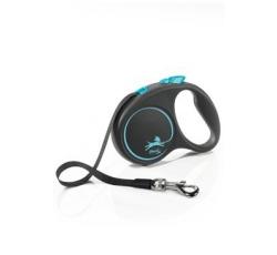 Vodítka - Vodítko FLEXI Black Design S pásek 5m/15kg
