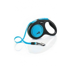 Vodítka - Vodítko FLEXI Neon M pásek 5m/25kg
