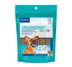Pamlsky - C.E.T.pes Žvýkací plátky Veggiedent NEW XS 15ks