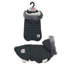 Oblečky, doplňky - Obleček prošívaná bunda pro psy URBAN černá