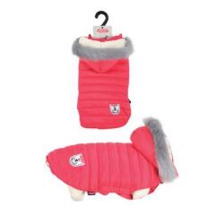 Oblečky, doplňky - Obleček prošívaná bunda pro psy URBAN červená