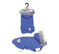 Oblečky, doplňky - Obleček prošívaná bunda pro psy URBAN modrá