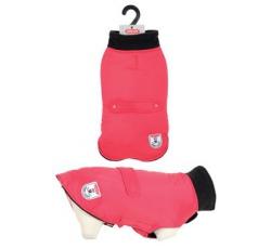 Oblečky, doplňky - Obleček voděodolný pro psy RIVER červená