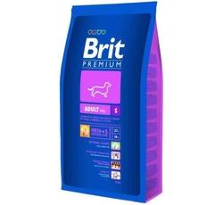Krmiva - Brit Premium Dog Adult S (malá plemena 1-10kg)