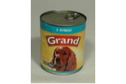 GRAND konz. pes s rybou