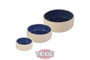 Miska keramická  Bílá/Modrá 2,1l 23cm