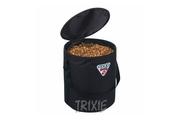 Zásobník na krmivo nylon Foodbag 10kg Černý