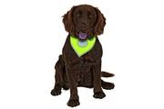 Šátek na krk reflex Safety Dog 24-30cm Žlutý