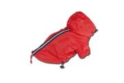 Pláštěnka červená s kapucí a reflexním proužkem