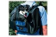 Batoh cestovní k nošení psa nylon 44x30x21cm