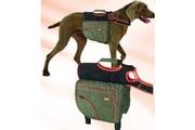 Batoh pro psy XL zelená/oranž. reflexní KAR 1ks