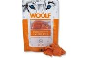 WOOLF pochoutka chicken with carrot bites 100g (kuře + mrkev)